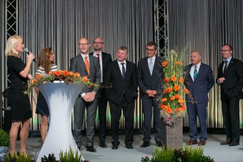 Feierliche Eröffnung der DeCONOx-Anlage am 29. September