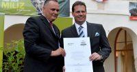 Kirchdorfer Kies und Transportholding GmbH erhält Miliz-Gütesiegel
