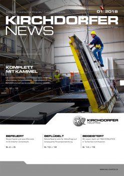 Ausgabe Eins der Kirchdorfer News ist druckfrisch eingetroffen!