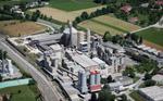 Das weitläufige Gelände des Kirchdorfer Zementwerks