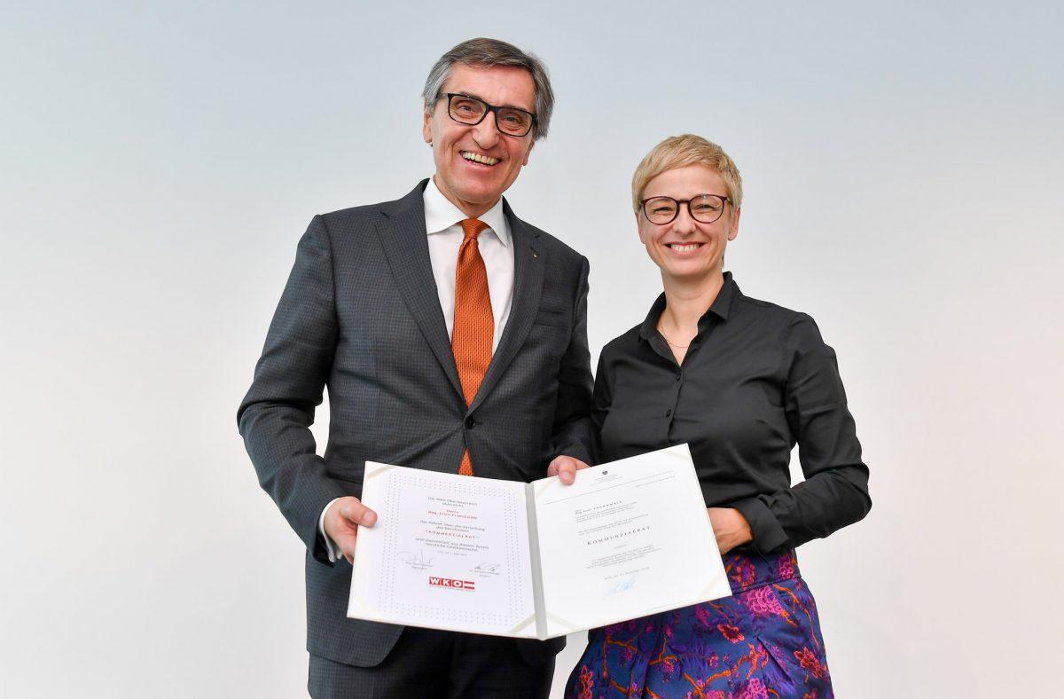 Mag. Erich Frommwald, Doris Hummer