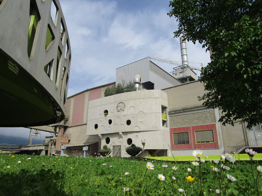 DeConox-Anlage im Kirchdorfer Zementwerk