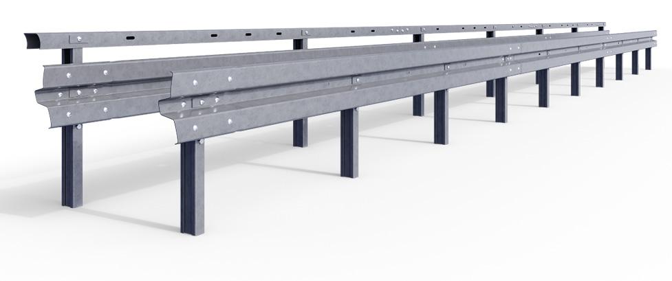 Mit STEELBLOC® PRODIGY stellt DELTABLOC® ein von Grund auf neu konzipiertes System an Stahlschutzplanken vor. Abdruck honorarfrei bei Nennung: © DELTABLOC®