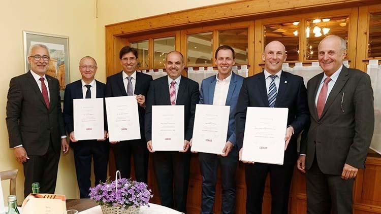 Silberne Wirtschaftsmedaille der WKO OÖ für WIBAU Kies und Beton GmbH