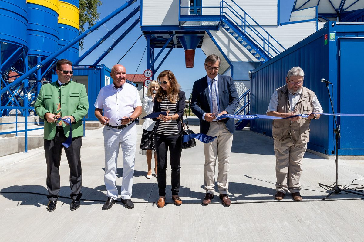 8tes Transportbetonwerk in Kaplice feierlich eröffnet