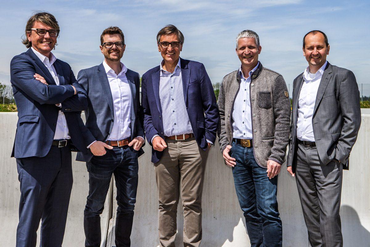 Gesichter hinter der neuen Unternehmenssparte Road & Traffic