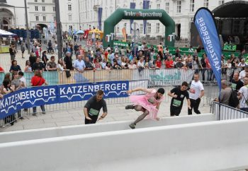 Highway to hell beim Innsbruckathlon