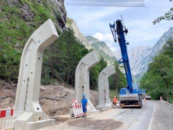 """RAUTER Fertigteilbau zähmt die """"Steinerne Jungfrau"""""""
