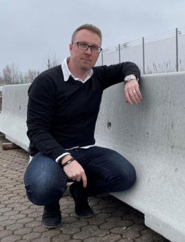 Niklas Zellner, National Sales Manager DELTABLOC Schweden
