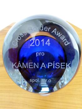 Kámen a písek gewinnt CROSS BORDER AWARD 2014