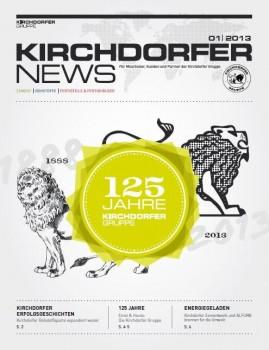 "Kirchdorfer launches a new group magazine, the ""Kirchdorfer News"""